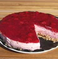 hindbærcheesecake